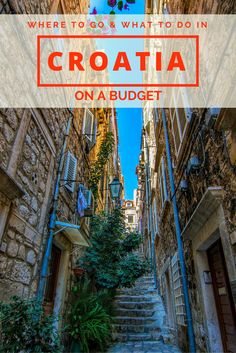 Croatia on a Budget: Traveling on a budget in Croatia in peak season can be tricky. Here are our tips on where to go and how to save money while traveling to some of Croatia's most touristy sites.