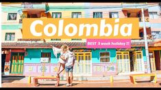 We travelled Colombia for 3 weeks and were amazed by the natural scenery, colourful towns and rich culture! See why Colombia is our favourite place in South . Natural Scenery, Sierra Nevada, Travel Couple, Us Travel, Gopro, South America, Wander, Places To Go, Adventure