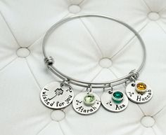 I Wished For You Bangle Bracelet - Bracelets at Sweet Blossom Gifts