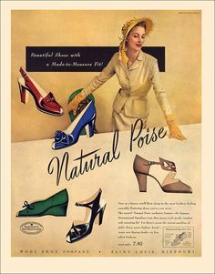 Wohl Shoes Ad, c1946 | by alsis35 (now at ipernity)