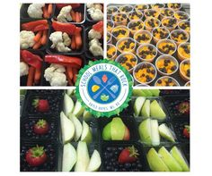 We love the produce presentation at Carrolton City Schools where Linette Dodson is the director.