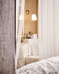 It's flowy, romantic and a little over the top, but there's something classically elegant about a bedroom canopy.