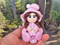 ilfilodelleidee: Bomboniere follettina in Fimo fatte a mano - Polymer clay elf party favours