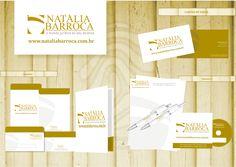 Cliente: Natália Barroca  Criação da identidade visual da marca Natália Barroca | Criação: Daniel Rozenblit | Agência: Promovva Comunicação Estratégica | Cliente:   www.nataliabarroca.com.br