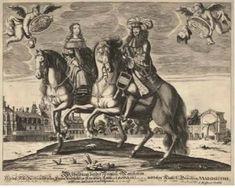 Johan Jacob Schollenberg ca 1667 Austria, Infanta Margarita, Side Saddle, Roman Emperor, Marie Antoinette, Hungary, Royals, Spanish, Painting