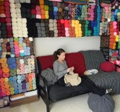 I want this Yarn Room for Christmas!!!
