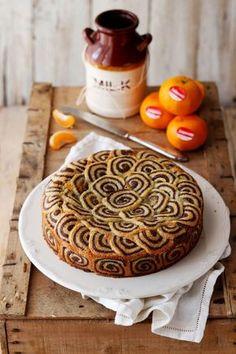 Crostata bicolore ripiena alle mandorle, profumata al mandarino - Deliziosa Virtù