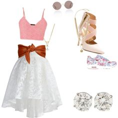 :) by hrit on Polyvore featuring polyvore fashion style maurices Chicwish NIKE Vince Camuto Sunday Somewhere Calvin Klein