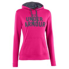 Women's Under Armour Battle Hoodie| FinishLine.com | Tropic Pink, can be purchased at http://www.finishline.com/store/product/womens-under-armour-battle-hoodie/_/A-17210?productId=prod723423 for $54.99.  Great for the cold weather!