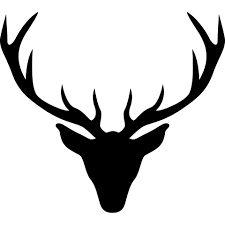 silhouette hirschkopf - Google-Suche