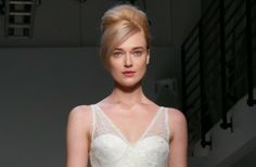 A new take on a #wedding hairstyle classic, the French Twist. Vintage brides will love the look!