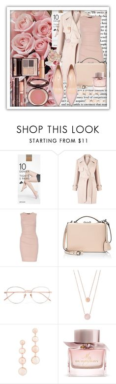 """Monochrome 2.0"" by queenofelegance ❤ liked on Polyvore featuring John Lewis, Miss Selfridge, Mark Cross, Linda Farrow, Michael Kors, Rebecca Minkoff, Burberry and Charlotte Tilbury"