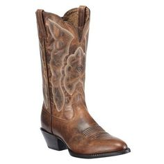 Ariat Heritage Western Cowgirl Boots Medium Toe ($10) found on Polyvore