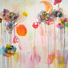 "Saatchi Art Artist Dennis Happé; Painting, ""State of happiness"" #art"