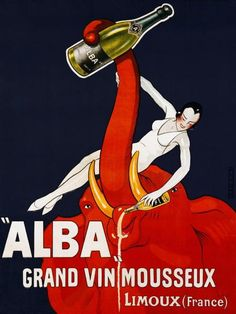 Andre - Alba Grand Vin Mousseux, ca. 1928 - art prints and posters
