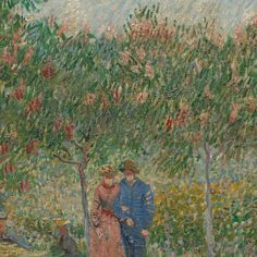 Garden with Courting Couples: Square Saint-Pierre - Van Gogh Museum