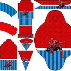 Oh My Fiesta! Friki: Fiesta de Spiderman: Imprimibles Gratis para Fiestas.