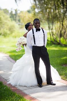 Heaven Orlando Wedding by Dotun Ayodeji Photography 62... Love the grooms suits!