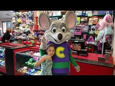 Chuck E Cheese Where a Kid can be a Kid Indoor Games and Activities for ...