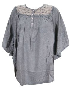 Bohemian Tie Dye Poncho Tops Blouse by baydeals   http://stores.ebay.com/mogulgallery
