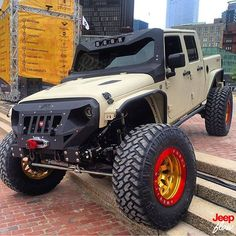 Check out this beast from the guys at @starwoodmotors #custom #jeep #jeeps #JEEPFLOW