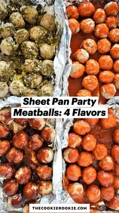 Great Appetizers, Appetizer Recipes, Dinner Recipes, Meatball Recipes, Pork Recipes, Cooking Recipes, Great Recipes, Favorite Recipes, Beef Dishes