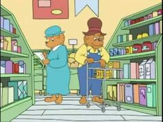 The Berenstain Bears   Get The Gimmies 6.13 - a video about making choices to buy needs vs. wants while shopping.
