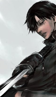 Tokyo Ghoul || Urie Kuki Am I the only one who thinks that he looks like Levi(AOT)