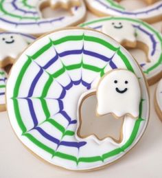 Sneaky Little Ghost Cookies  - adorableness exemplified