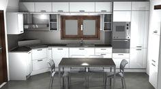 Cucina SAX Scavolini white by #Scavolini #Sax #kitchen #kitchens @Sermobil #design