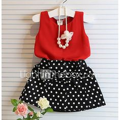 Girls' Clothing Years) Toddler Kids Baby Girl Clothes Tops T-Shirt +Skirt Dress Clothes Set Outfit Baby Outfits, Girls Summer Outfits, Toddler Outfits, Dress Outfits, Kids Outfits, Girls Dresses, Summer Girls, Summer Baby, Dress Clothes
