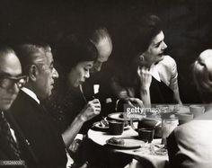 jackie kennedy and aristotle onassis   Jackie Onassis At Szechuan Taste Restaurant In Chinatown   Getty ...