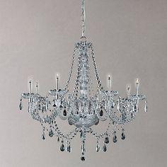 Buy Impex Zara Chandelier, 8 Light Online at johnlewis.com