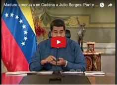 Maduro amenaza a Julio Borges y éste se defiende  http://www.facebook.com/pages/p/584631925064466