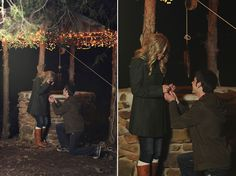 I love proposal pictures! Sooo cute.