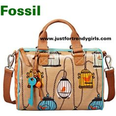 Bird cage fossil purse. Love it!