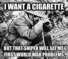 It was a problem for WWII soldiers too