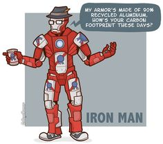 If Superheroes Were Hipsters by Caldwell Tanner - CollegeHumor Article