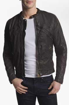 184d5be33f7 Men Leather Jacket Brand New 100% Genuine Soft Indian Lambskin Bomber Bike  GF342  Handmade