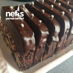 Mozaik Pasta - Nefis Yemek Tarifleri - #3148916 Mousse Au Chocolat Torte, Ice Cream Deserts, Pasta Cake, Pudding Cake, Turkish Recipes, Cookie Desserts, Sweet And Salty, Chocolate Recipes, Snack Recipes