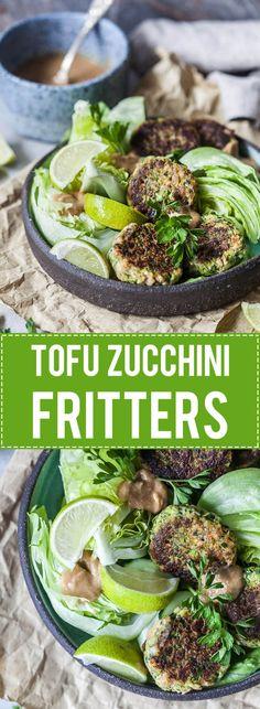 Tofu Zucchini Fritte