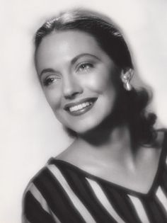 A Broadway star in the 1940s - Evelyn Ward - mother of musician David Cassidy.