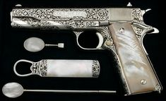 Leonard Francolini Colt..again with accessories,  love it all, design and opal handle