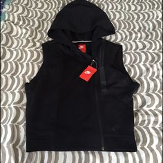 Nike Sporty Vest With Hoody