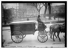 John Pierpont Morgan Funeral, Stuyvesant Square, April 14, 1913