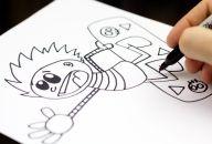 Awesome Kids Art Blog!