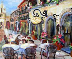 `La Petite Cafe` by Elaine Cory