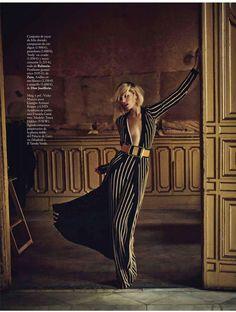 """""""Changing Role"""" Tosca Dekker for ELLE Spain December 2015"""