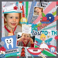 Layout using {Molar Expedition} Digital Scrapbook Collection by Clever Monkey Graphics available at Gingerscraps http://store.gingerscraps.net/Molar-Expedition-by-Clever-Monkey-Graphics.html #clevermonkeygraphics