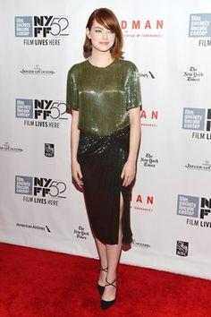 Best dressed - Emma Stone in a Jason Wu dress